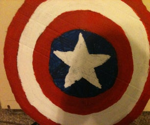 Captain America Shield (Really Flies)