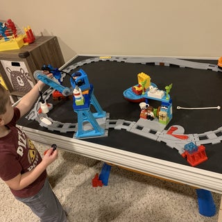 Simple Train Play Table