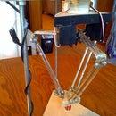 Homemade Delta Parallel Robot