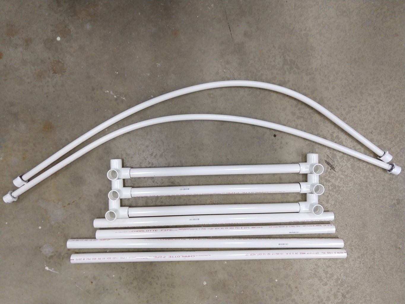 Step 3 - Bending the Arches