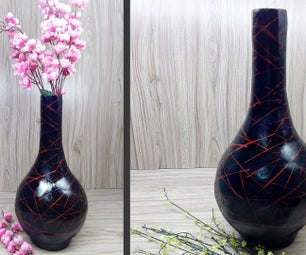 How to Make Cement Bottle | Vase | Home Decoration Ideas