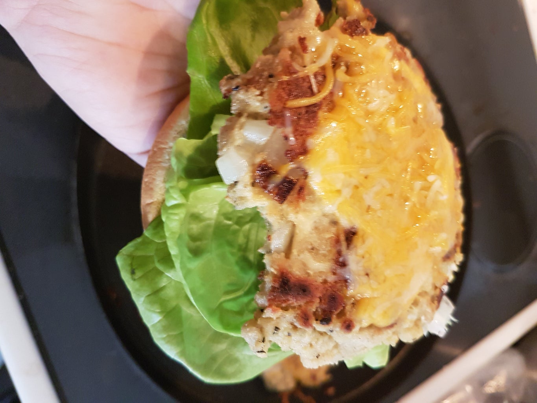 Super Easy Tofu Burger (Vegan or Vegetarian )