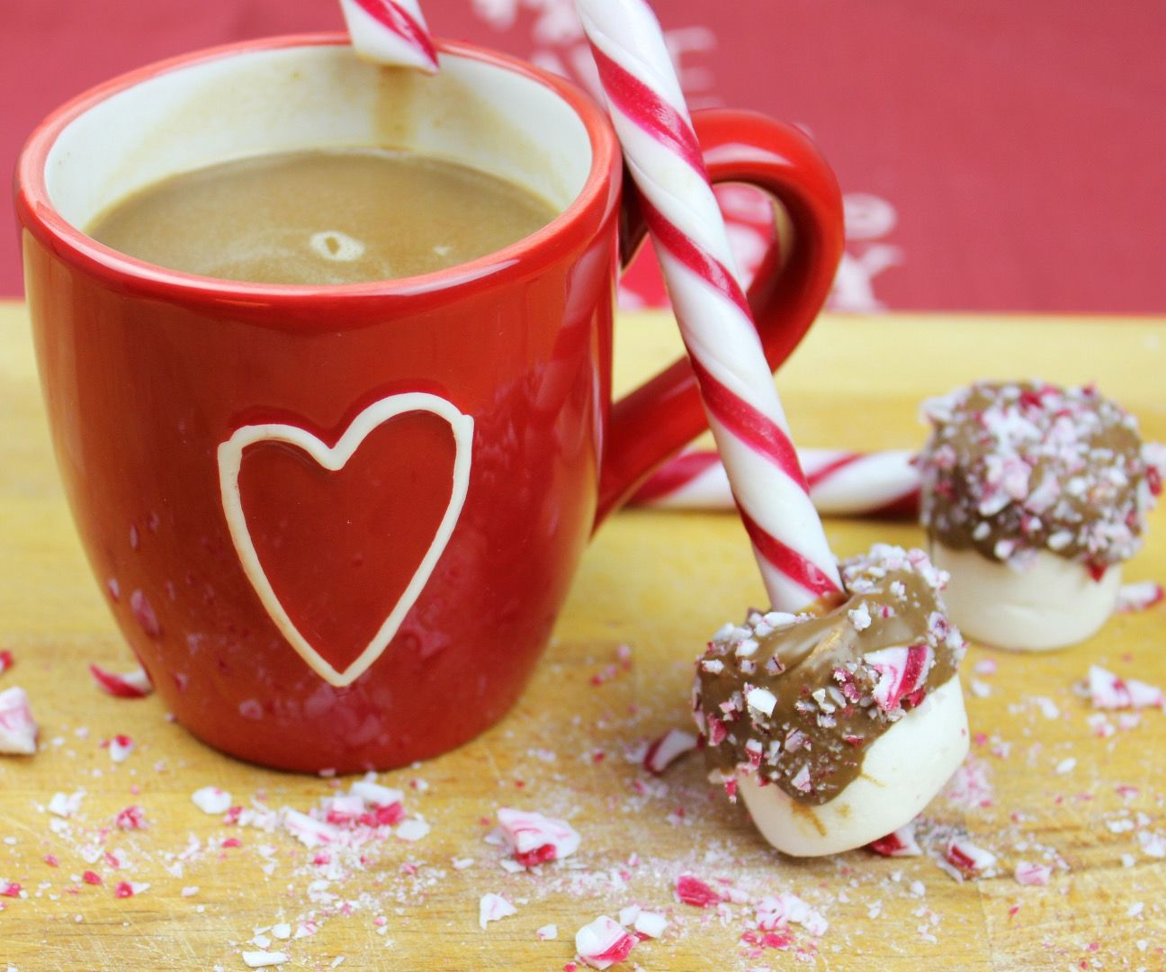Hot Chocolate Festive Dunk, DIY