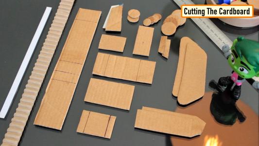 Cutting the Cardboard - Tank