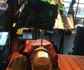 Circuit Board Lamp