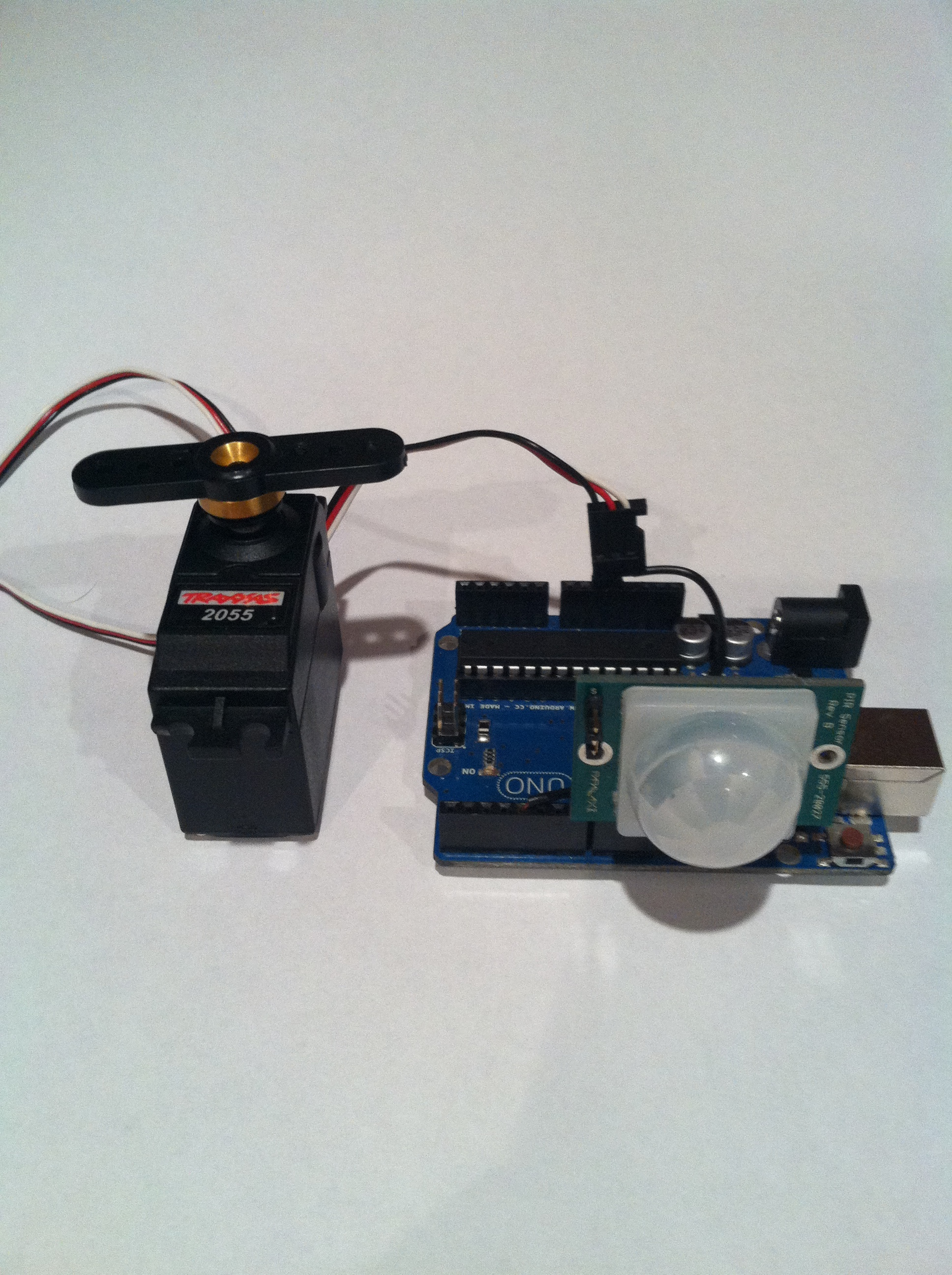 Motion Activated Servo