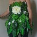 Faux Flower Frock