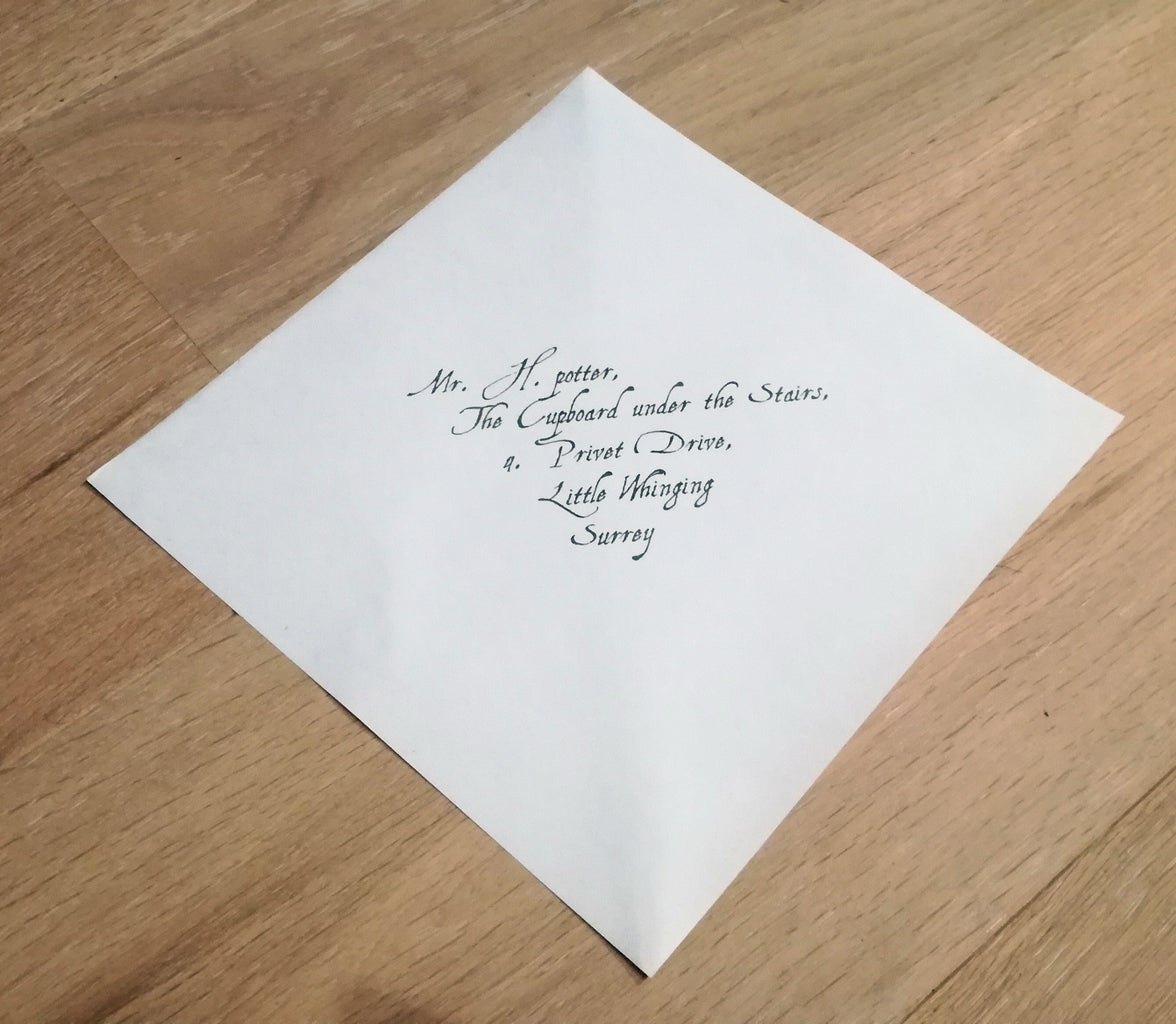 Cut the Envelope to the Right Size