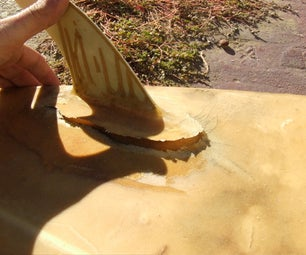 Alex's Surfboard Repair Tips--fixing a Delamination/split Fiberglass