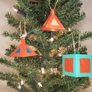 How to Make 3D Christmas Tree Ornaments