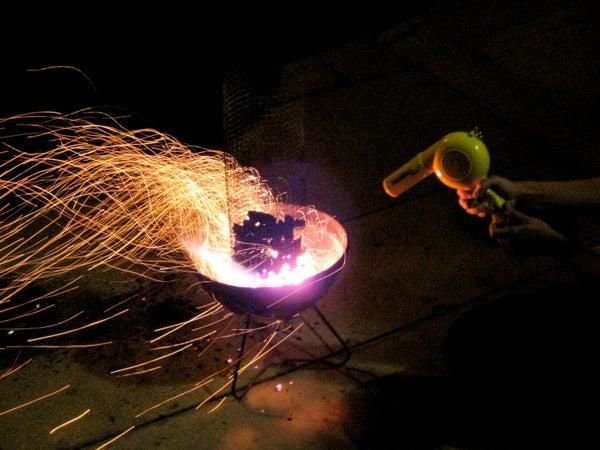 The Best Way to Start BBQ Coals