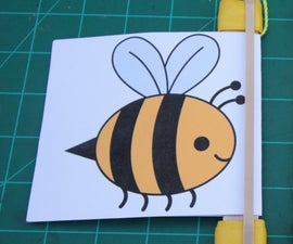 Bee Buzzer - Rubber Band Noise Toy