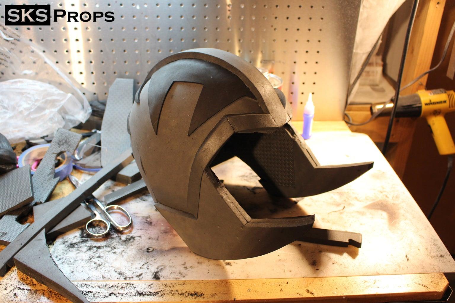 Helmet Details and Horns