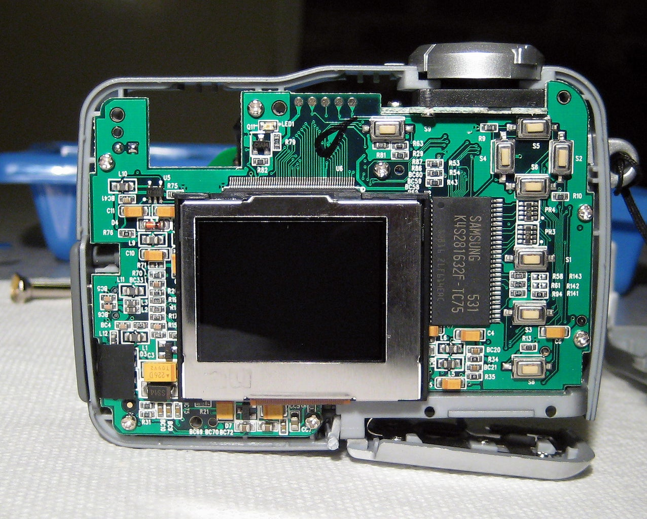 Remove the CCD Assembly