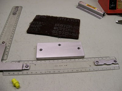 Building the Base - Surface Finish