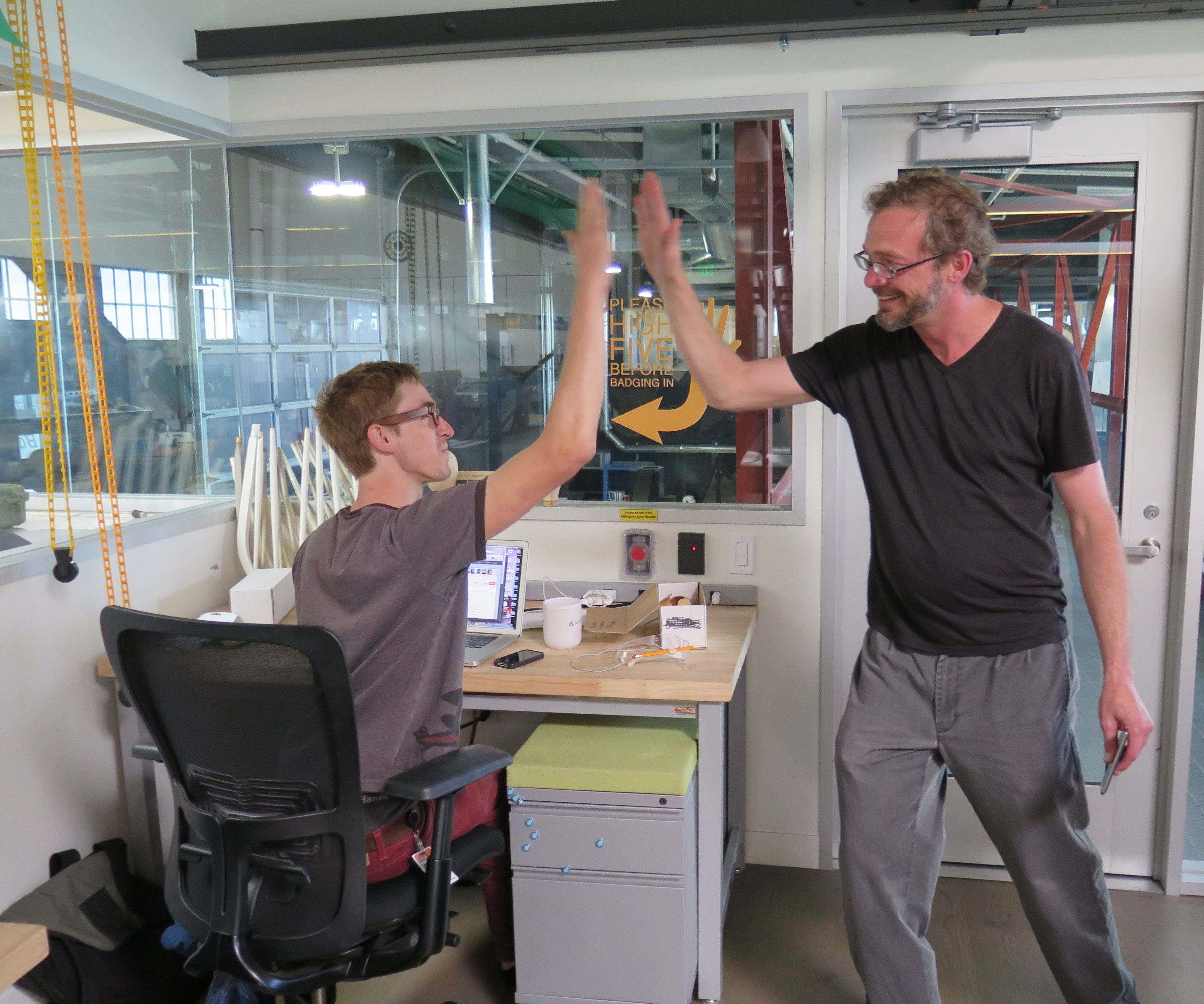 Get More High Fives at Work