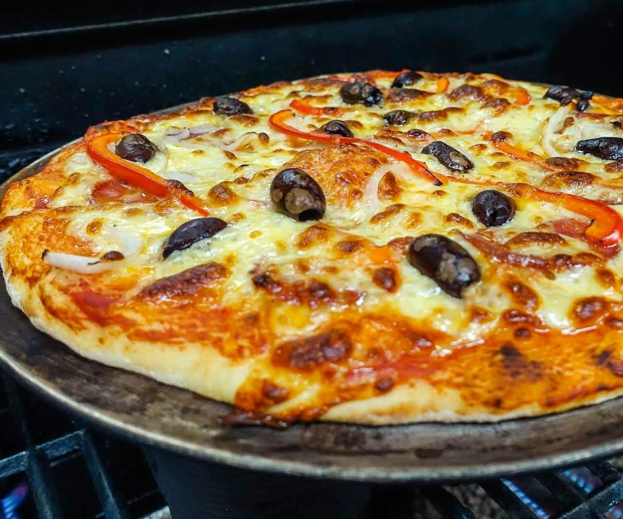 Wood-fired Pizza on a Gas Grill