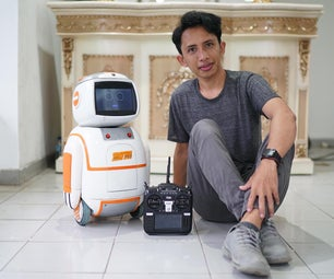 Rori the Robot Coffee Who Act on the Movie