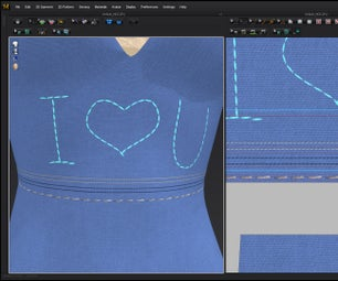 Marvelous Designer Tutorial for Beginners How to Make Stitches for Your 3D Clothes