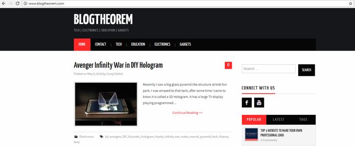 More at BlogTheorem.com