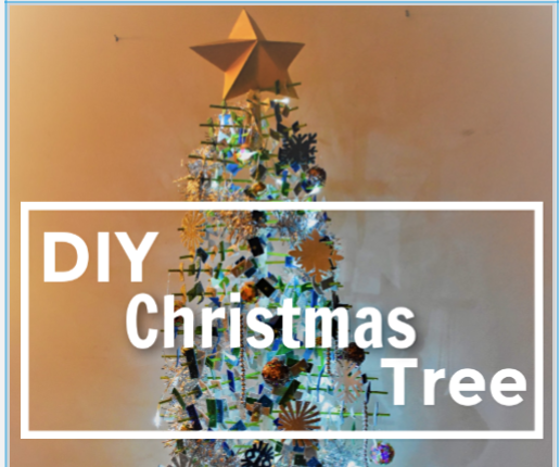 Improvised Christmas Tree