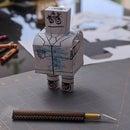 免费万圣节无头机器人Papercraft