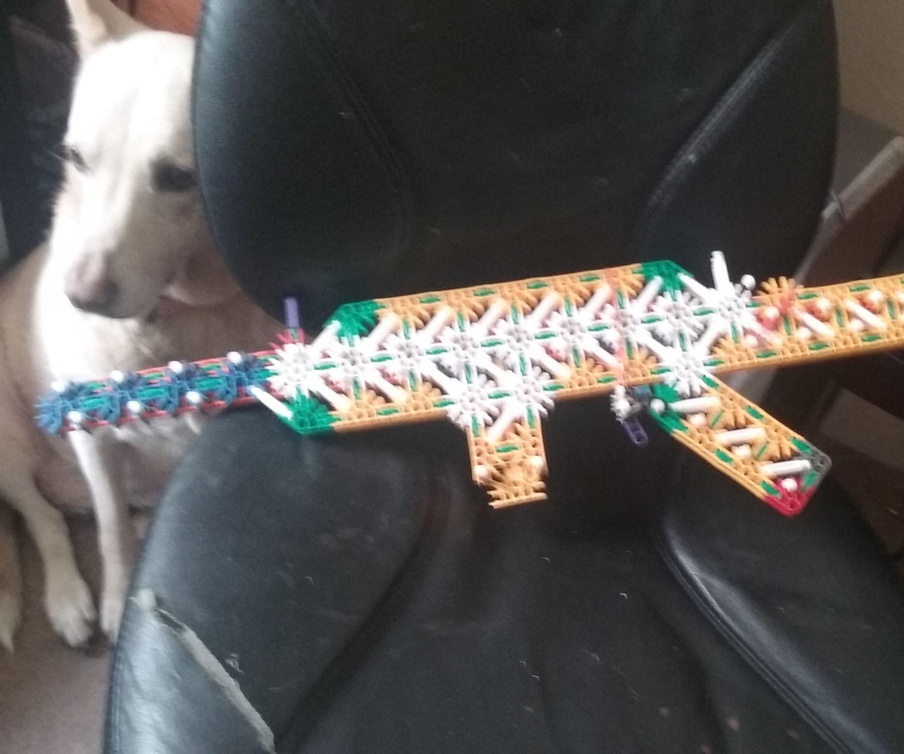K'nex Assault Rifle