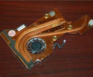 IBM ThinkPad T40P T41 T41P T42 T42P Laptops CPU Cooling Fan