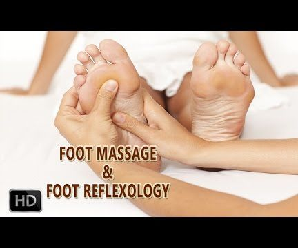 CHINESE FOOT & LEG MASSAGE - REFLEXOLOGY - Foot Reflexology Techniques & Points