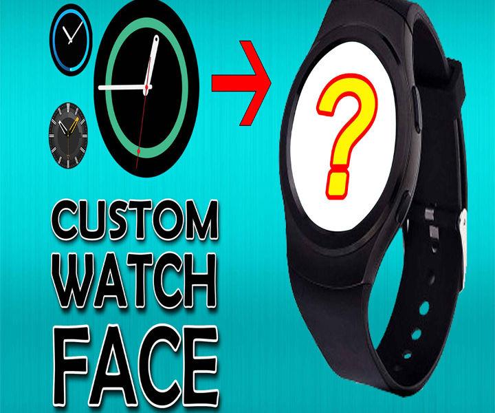 Custom Smartwatch face (Video)