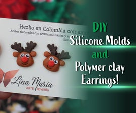 Create Your OWN MOLDS and Your Own POLYMER CLAY EARRINGS