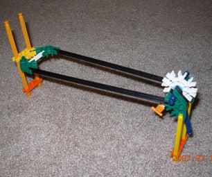 K'nex Bolt Launcher and Bolts
