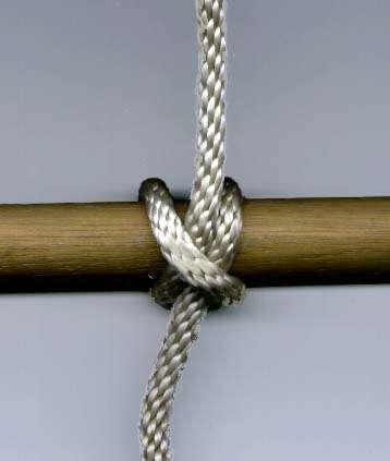 Tieing a Clove Hitch