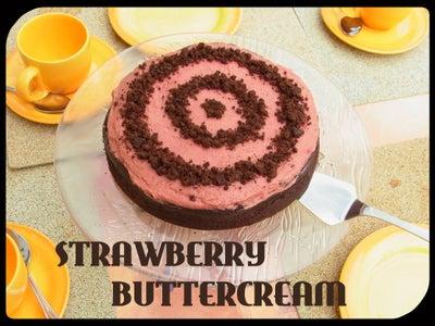 The Very Best Strawberry Buttercream (tastes Like Ice Cream)