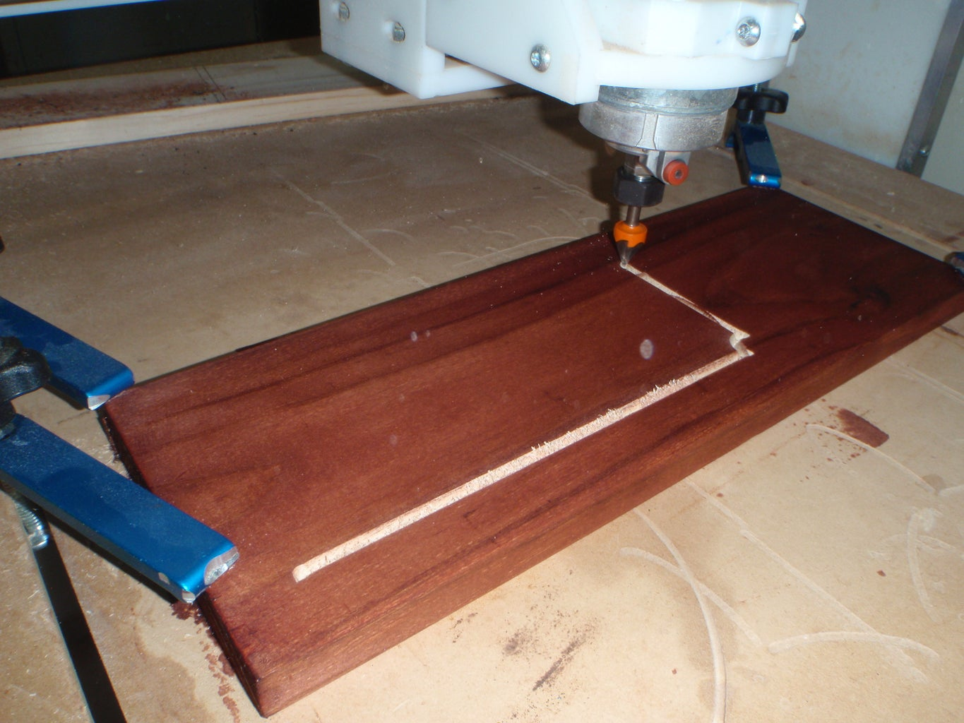 Setting Up the CNC Router