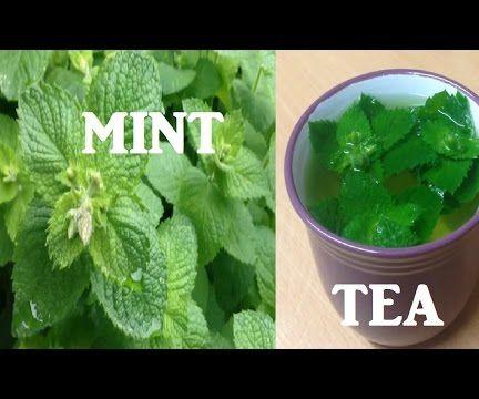 Fresh Mint Tea