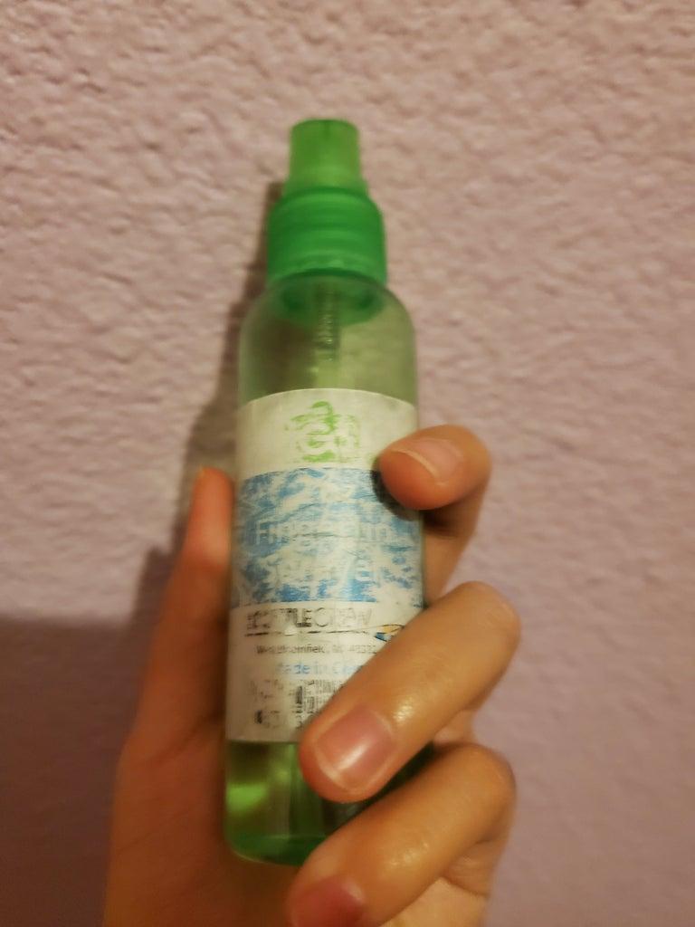 Spray the Ziploc