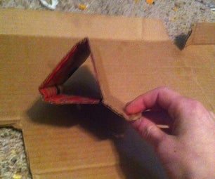 How to Make a Cardboard and Duck Tape IPHONE TRIPODp