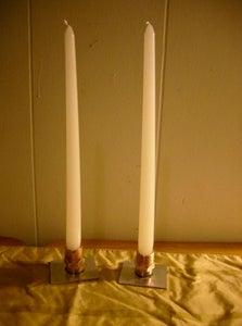 Melt Brazing - Making Candle Sticks Part 4