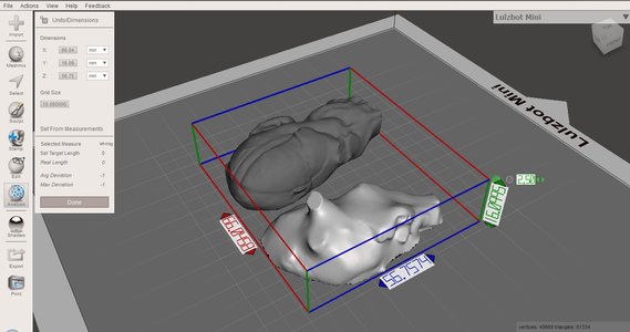 Preparing Your Model for Printing