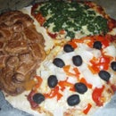 Three Course Meal Pizza