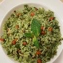 Green Mint Pulao