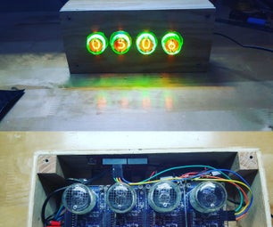 Arduino Nixie Tube Clock - Version 1.0