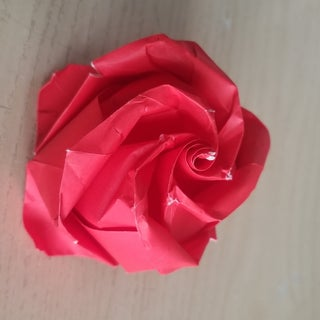 Fold an Origami Rose