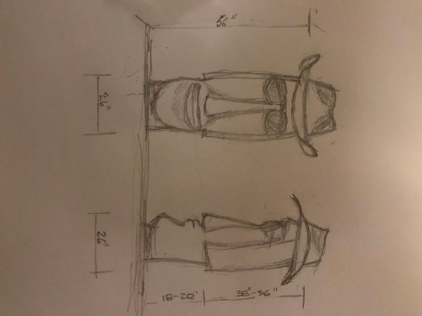 Initial Design and Rough Carving