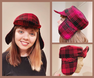 Upcycled Trapper Hat