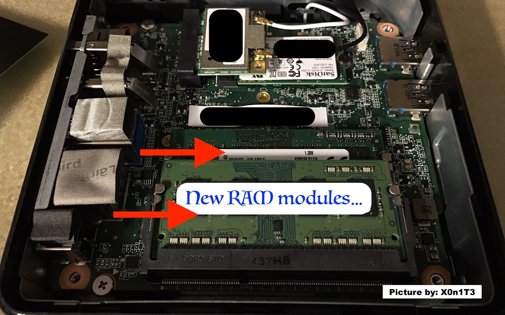 Replace the RAM...