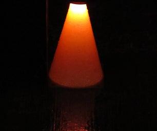 Solar Powered Illuminated Saftey Cone