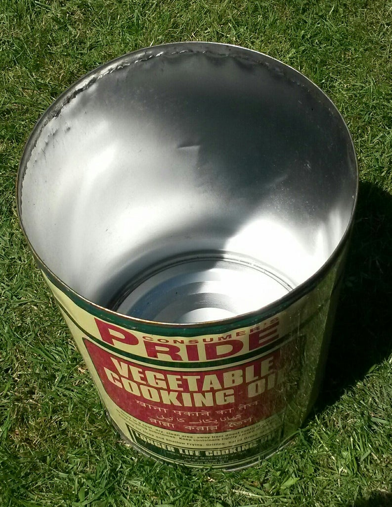 Cut Open Lid of Can