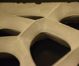 Concrete Screen Tile